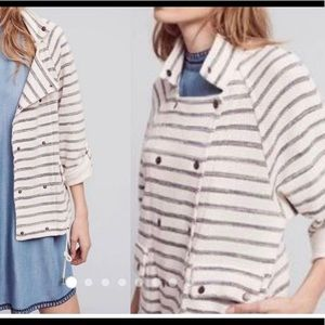 Dolan striped terry jacket